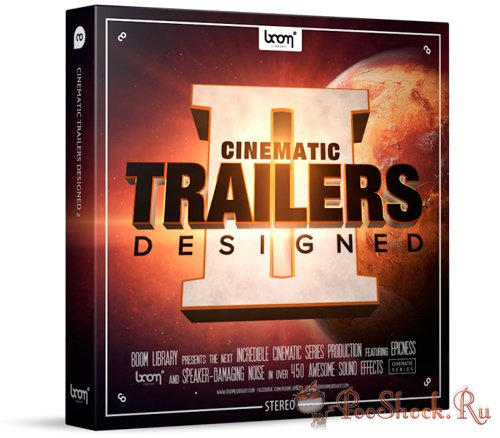 Boom Library - CINEMATIC TRAILERS DESIGNED 2 (WAV)