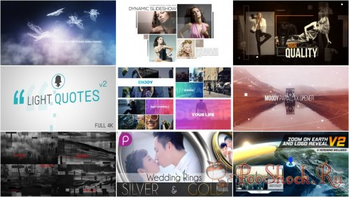 VideoHivePack - 613 (After Effects Projects Pack)
