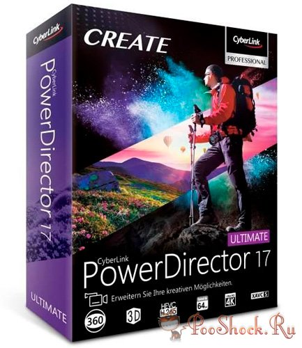 PowerDirector Ultimate 17.0.2727.0 RePack