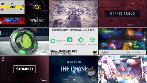 VideoHivePack - 651 (After Effects Projects Pack)