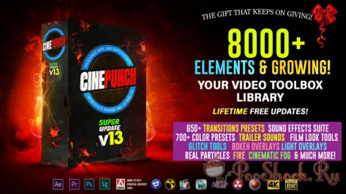 CINEPUNCH v13: 8000+ Elements and Growing!