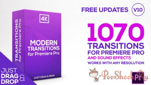 VideoHive - Modern Transitions | For Premiere PRO (prproj)