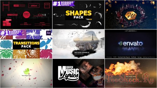 VideoHivePack - 690 (After Effects Projects Pack)