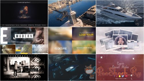 VideoHivePack - 698 (After Effects Projects Pack)
