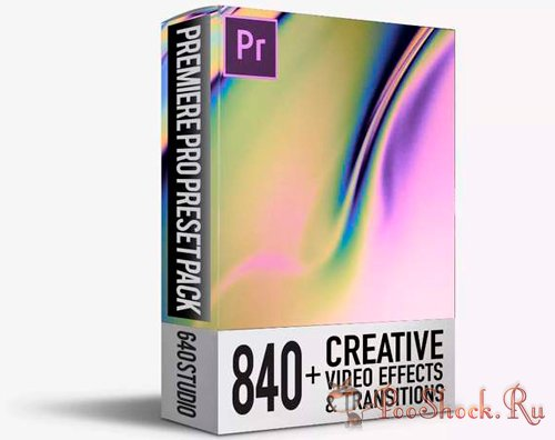 840 Transitions Pack For Premiere Pro CC (v3.1.2)
