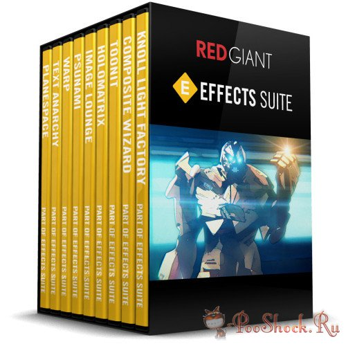 Red Giant Effects Suite 11.1.13