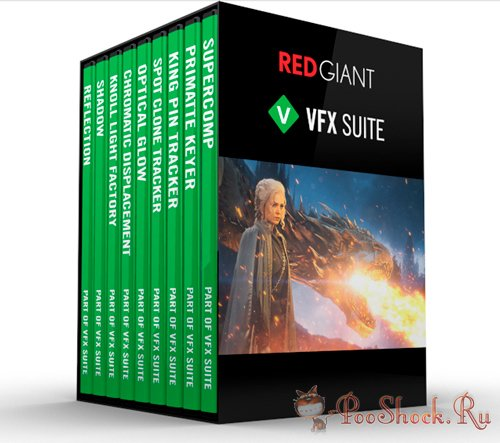 Red Giant - VFX Suite 1.0.4