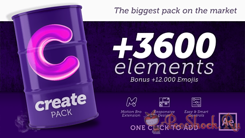 Create Pack 1.0 (for After Effects)