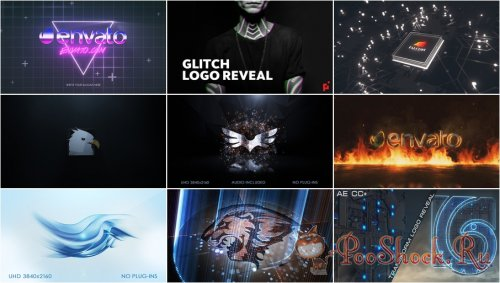 VideoHivePack - 758 (After Effects Projects Pack) - [Logo]