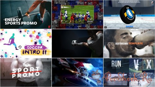 VideoHivePack - 762 (After Effects Projects Pack) - [Sport]
