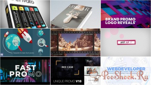 VideoHivePack - 769 (After Effects Projects Pack) - [Promo]