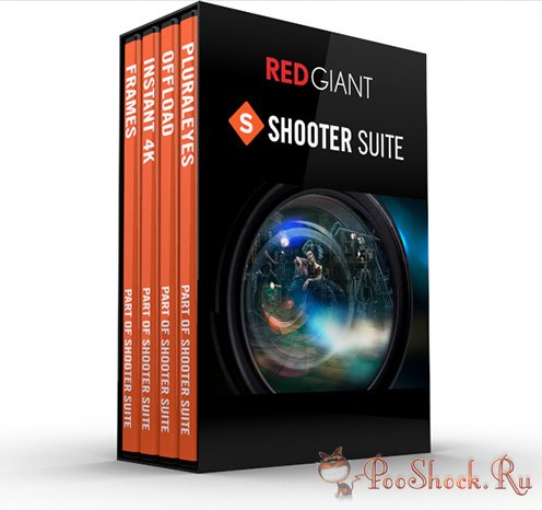 Red Giant - Shooter Suite 13.1.11