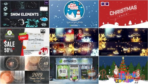 VideoHivePack - 783 (After Effects Projects Pack) - [Christmas]