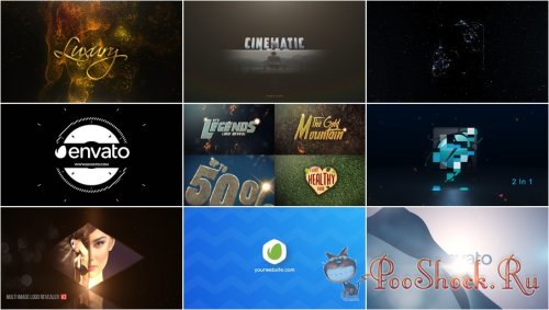 VideoHivePack - 802 (After Effects Projects Pack) - [Logo]
