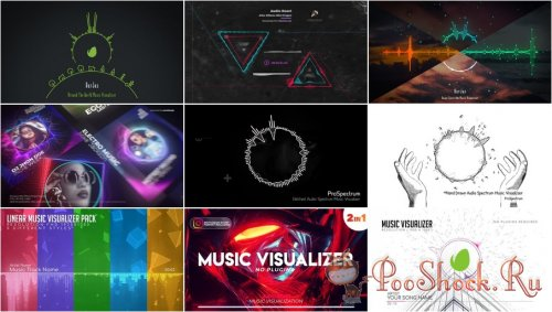 VideoHivePack - 803 (After Effects Projects Pack) - [Music Visualizer]
