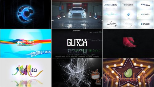 VideoHivePack - 821 (After Effects Projects Pack) - [Logo]